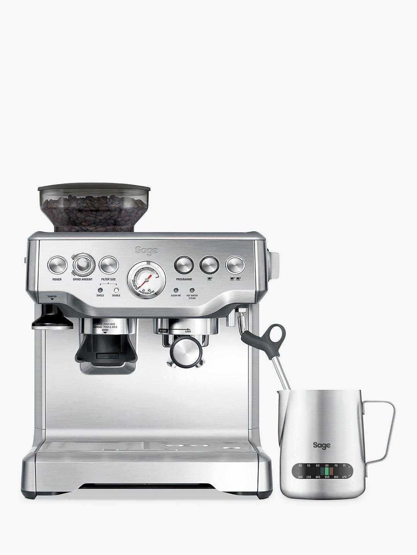 Sage Barista Express Bean-to-Cup Coffee Machine, Black ...