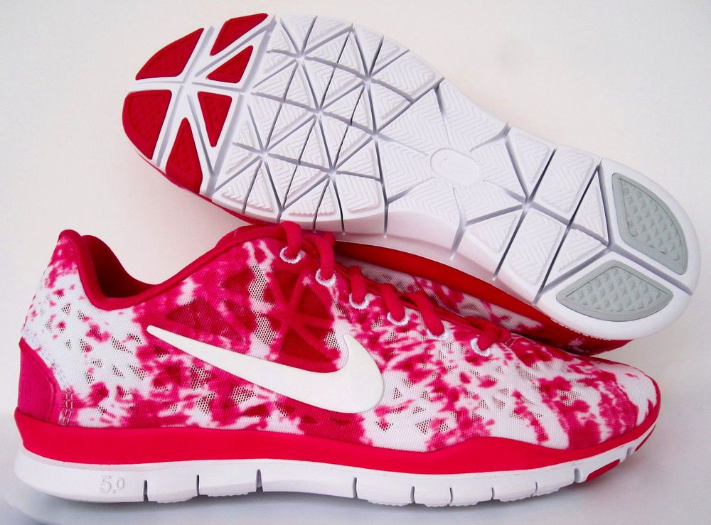 Nike Free TR Fit 3 Print Tie-Dye Women Running Shoe #555159-604