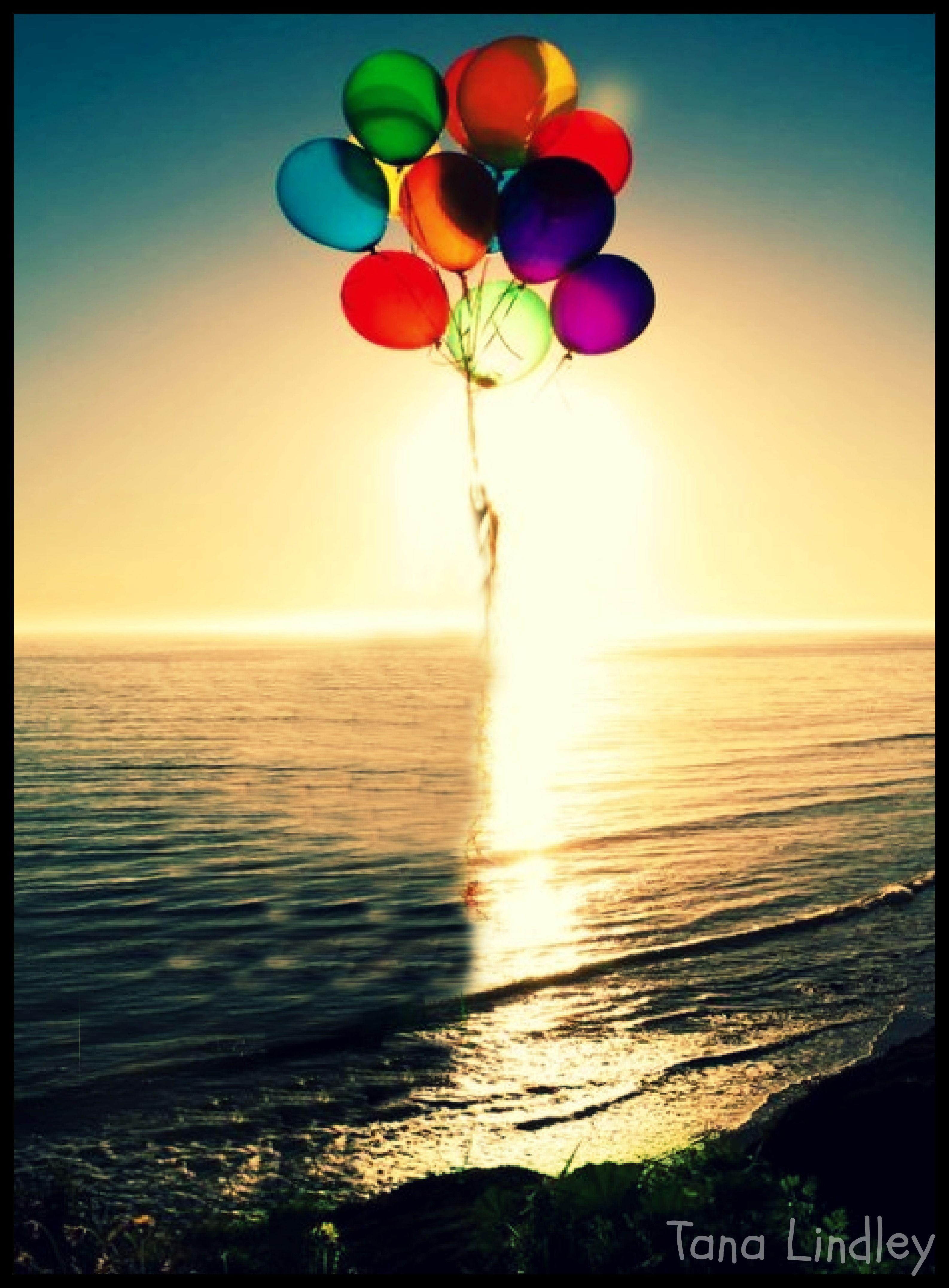 Happy Birthday From The Beach Happy Birthday Balloons Happy