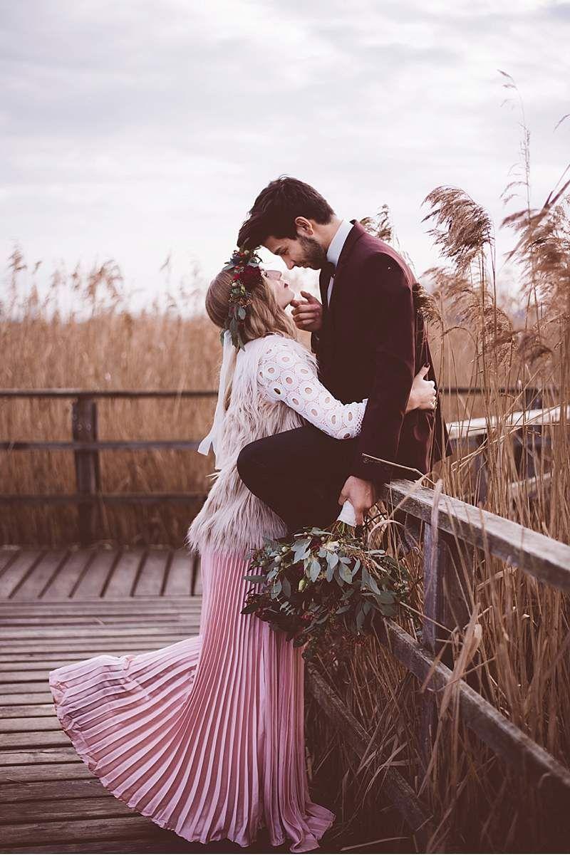IndieCool Winter Shooting am Federsee 2p Wedding