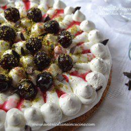 Photo of Chantilly-cioccolato-bianco,-pistacchio-amarene-2 Le voglie