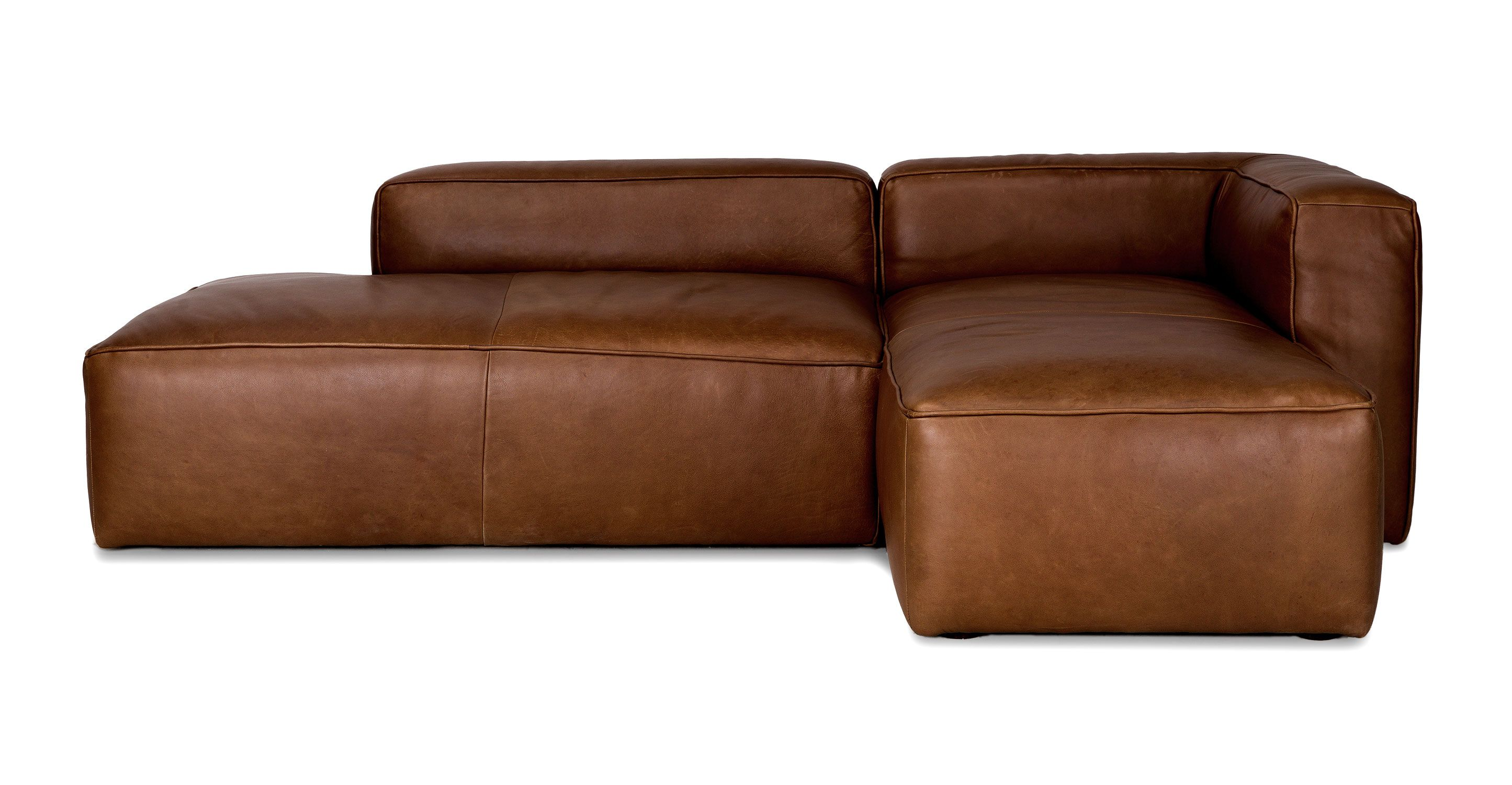Best Mello Taos Brown Right Sectional Sofas Article 640 x 480