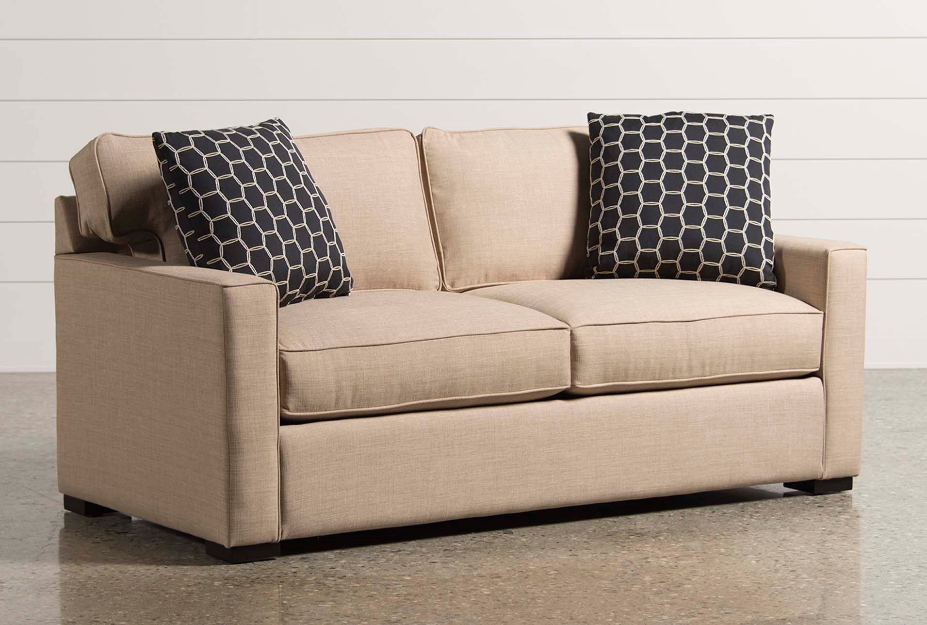 Silas Memory Foam Full Sleeper Foam Sofa Bed Loveseat