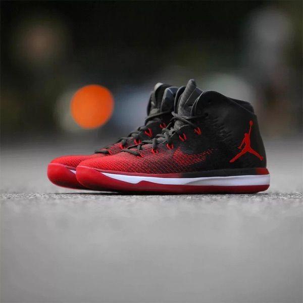 sports shoes c6a32 4d6ca NIKE AIR JORDAN XXXI 31 BANNED CHICAGO BULLS BLACK RED 845037 001   nikeairjordan31  airjordanxxx1banned