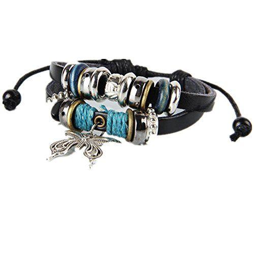 Julyflower Charm Leather Bracelet For Women ,Fit 7-9 inch... https://www.amazon.com/dp/B01JDXQ93Q/ref=cm_sw_r_pi_dp_ceRNxbVB6276E