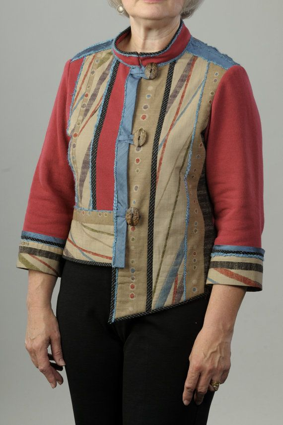 Sweatshirt Makeover, Sweatshirt Transformation, Ladies Sewing ...