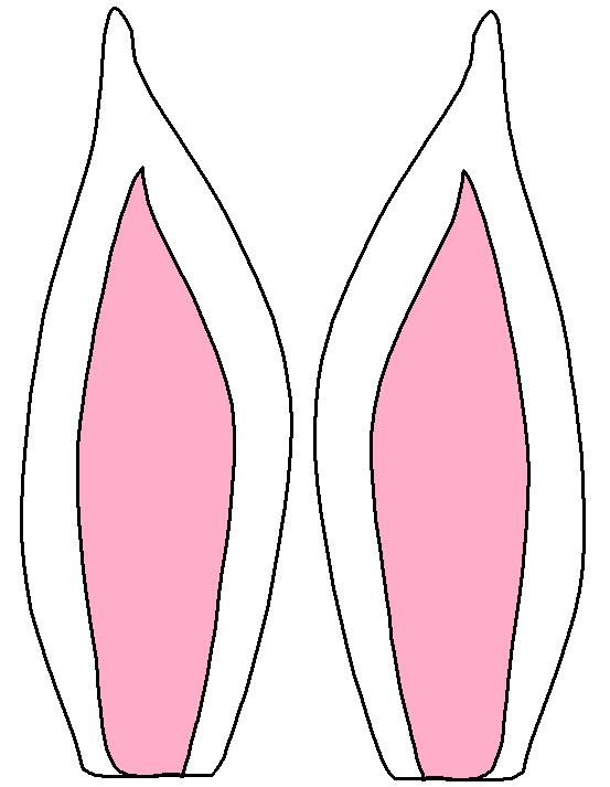 kleurplaat konijnenoren