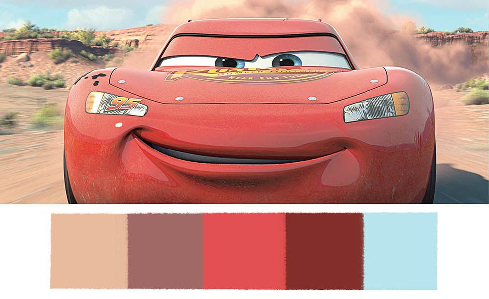 These Disney Pixar Palettes are the Most Aesthetically Pleasing ...