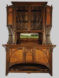 art nouveau furniture google search beautiful home pinterest jugendstil m bel. Black Bedroom Furniture Sets. Home Design Ideas