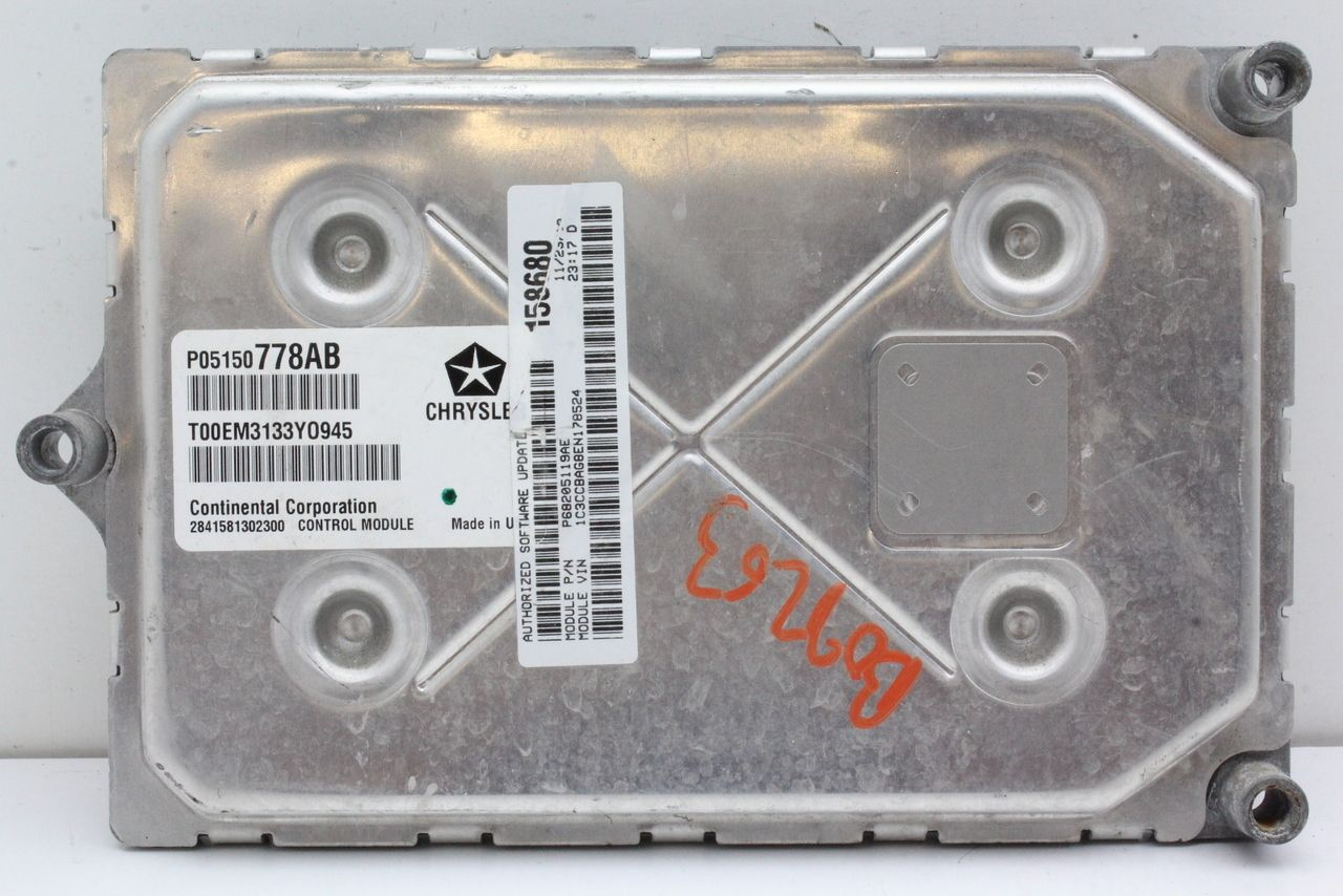2014 Dodge Caravan Town and Country ecm ecu computer P05150778AB