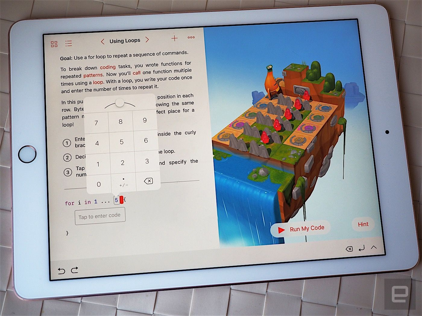 Apple's kid-friendly Swift Playgrounds taught me to code | Stuff for