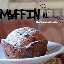 ricetta dolci facili muffin al cioccolato ME creativeinside