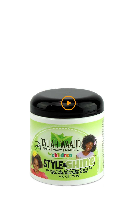 Photo of Taliah Waajid per bambini Stile di erbe e lucentezza per capelli naturali 6 FL Oz. – Thi …
