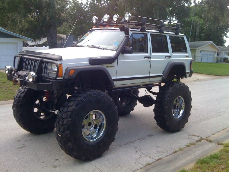 Xj With 54s Is There Really A Need For A Snorkel When It S