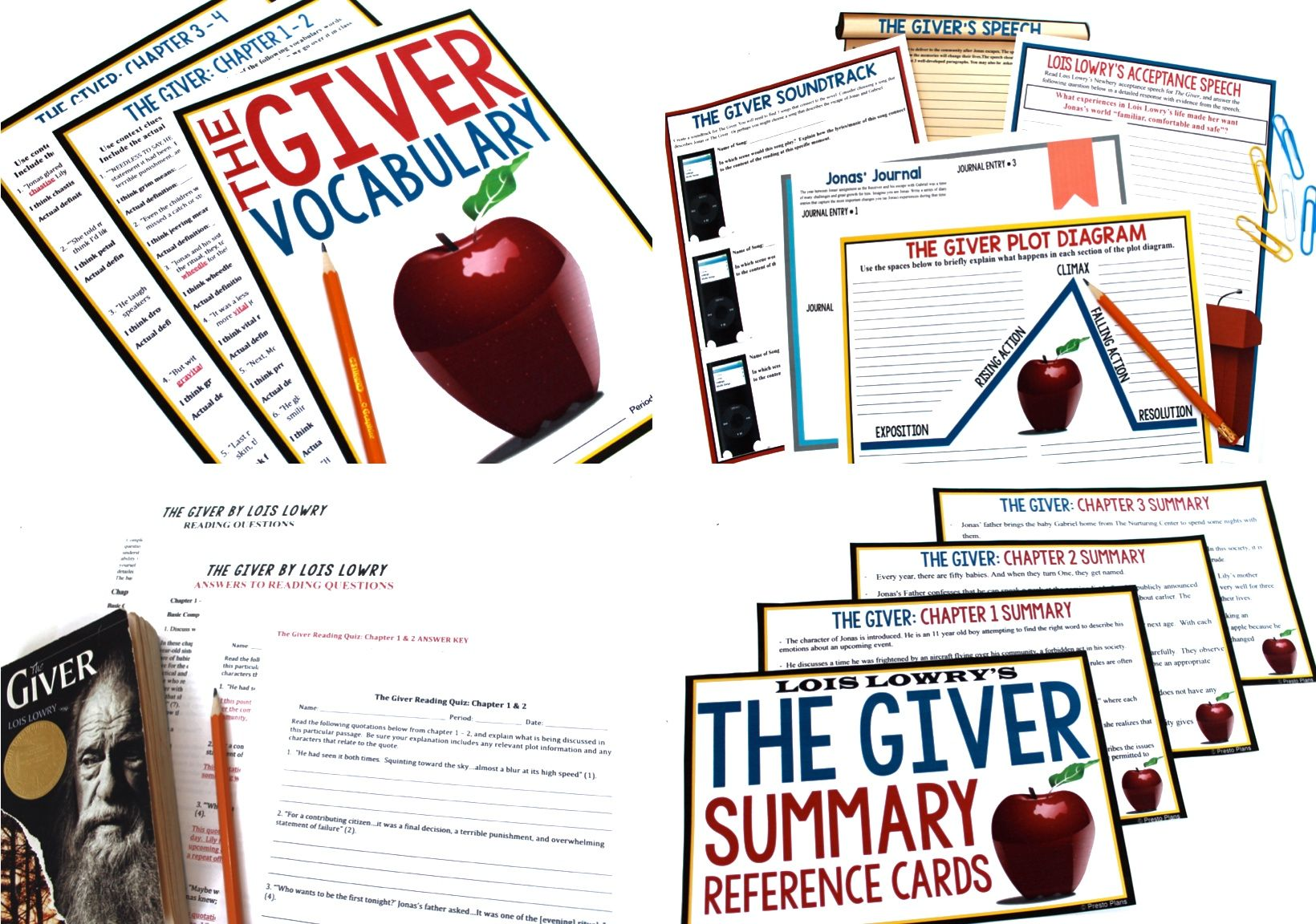 8 Creative Activities To Teach The Giver By Lois Lowry