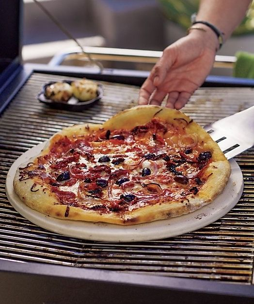 Using A Pizza Stone Crate And Barrel Grilled Pizza Stone Cooking Stone Pizza Stone Recipes