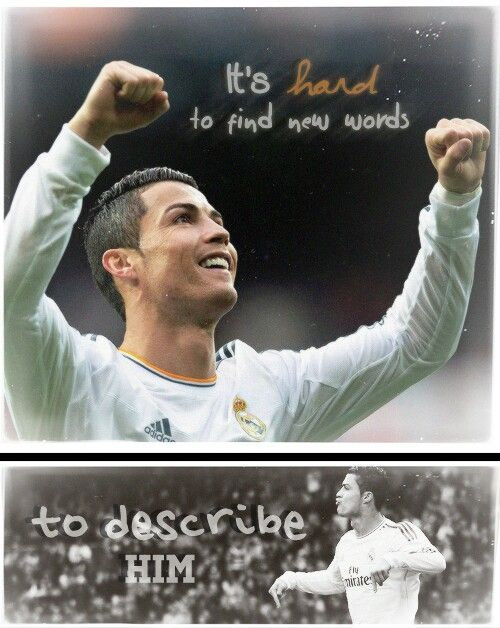 <3 Ronaldo Real Madrid<3 I love you team and forever<3