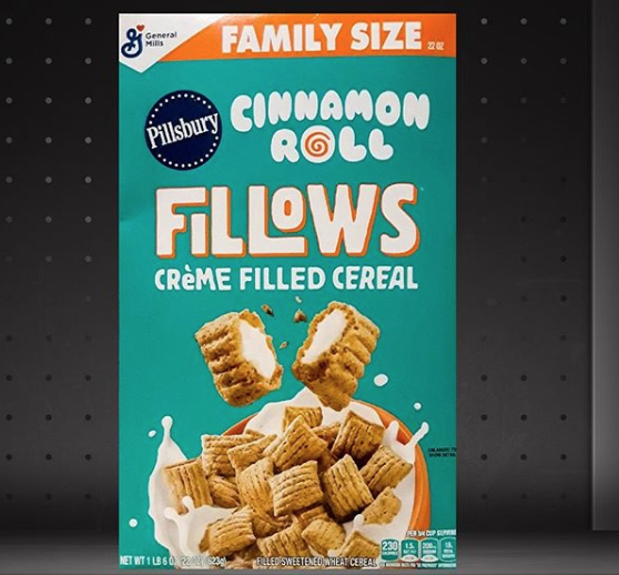 General Mills' New Fillows Cereals Are Stuffed With