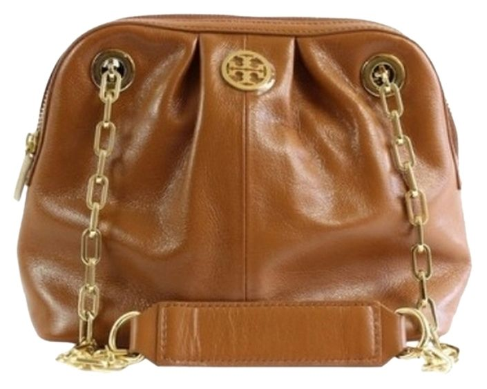 8b4fc5a0171 Tory Burch $350 Nwt Dena Mini Luggage Chain With Dust Sold-out! Brown Cross  Body Bag. Get the trendiest Cross Body Bag of the season!