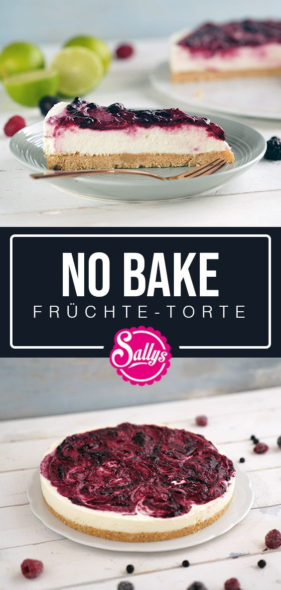 No Bake Fruchte Torte In 2020 Fruit Recipes No Bake Cake Baked Fruit