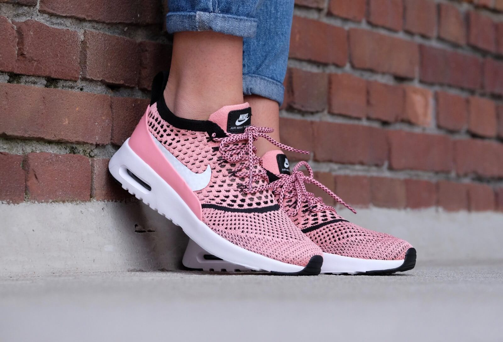 purchase cheap ef01b 0dcf5 NIKE AIR MAX THEA ULTRA FLYKNIT ROSE PINK 881175 800 | NIKE AIR MAX ...