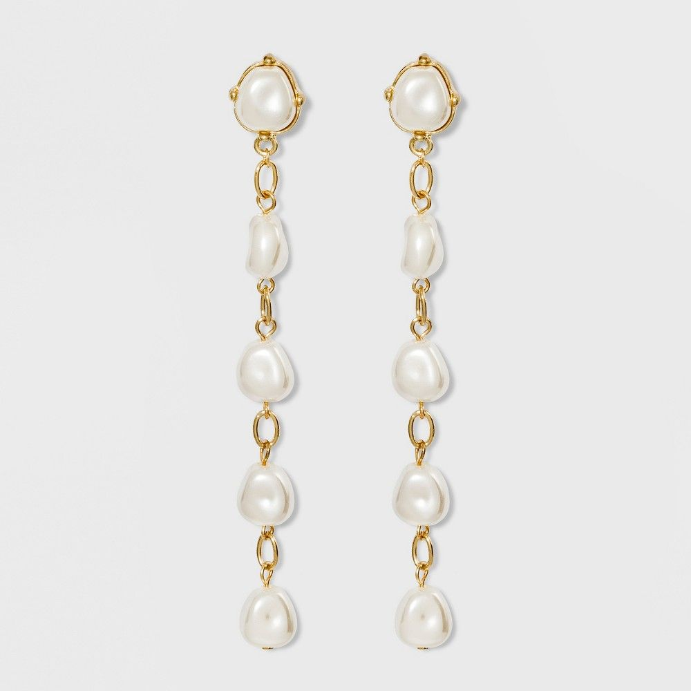 91b7ca9de61a8 The Sugarfix by BaubleBar Delicate Drop Earrings are ideal for those ...
