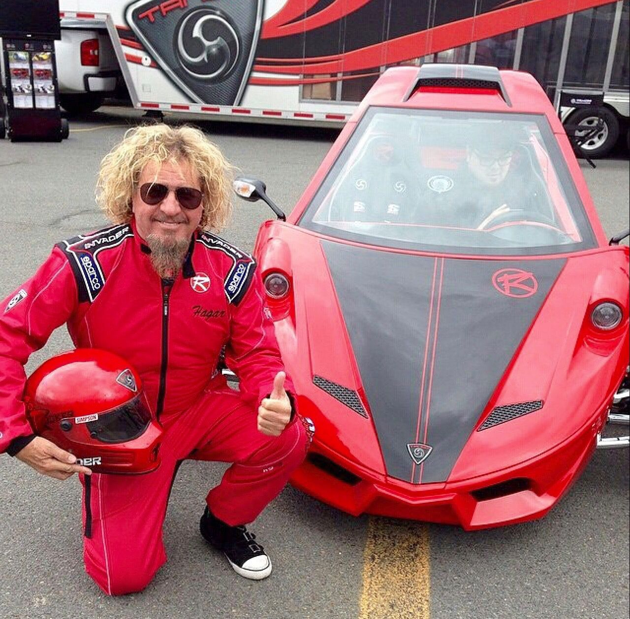 Sammy Hagar Red Leather Jacket Leather Jacket Red Leather