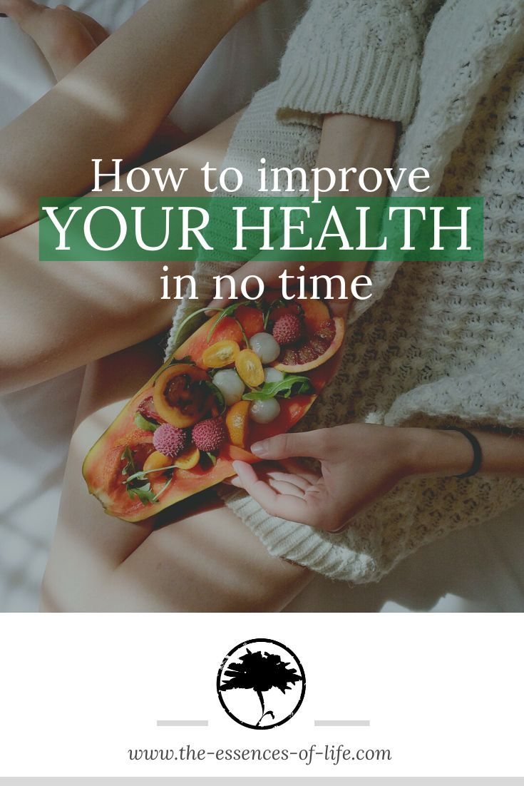 If you want to improve your health in the shortest possible time, these tips are guaranteed to help....