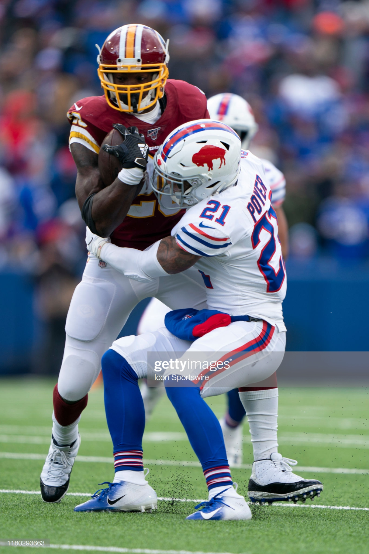 Buffalo Bills Safety Jordan Poyer Tackles Washington Redskins