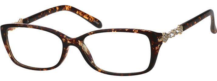 Tortoiseshell Rectangle Glasses 201225 Zenni Optical Eyeglasses