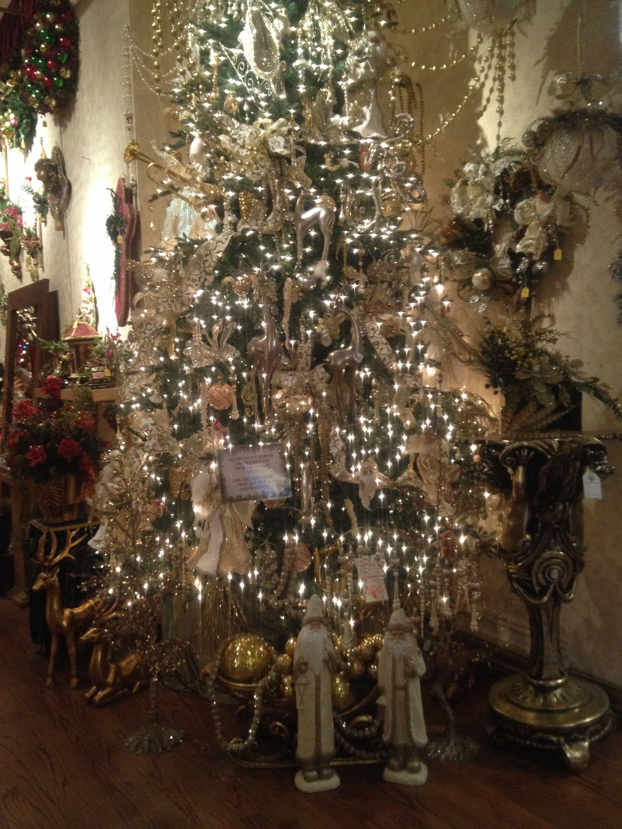 Christmas inspirations from Stats, Pasadena CA. White