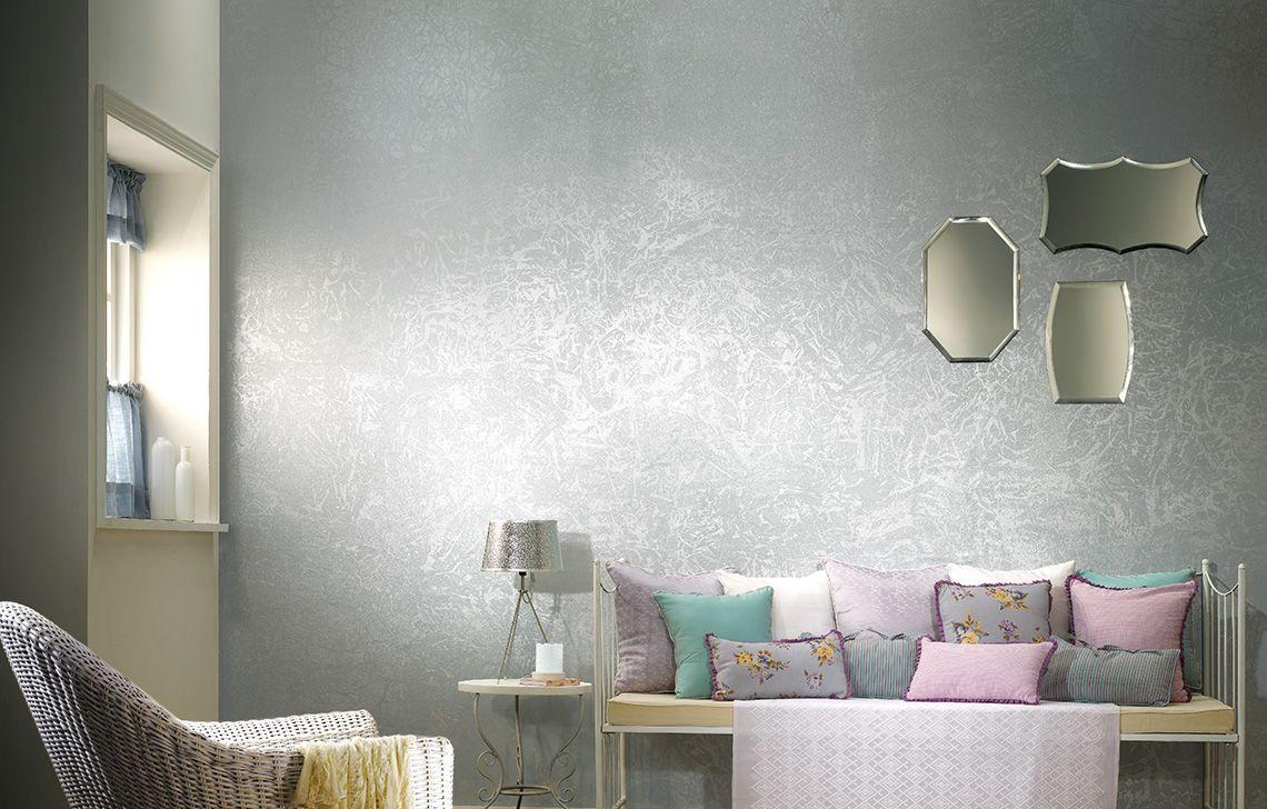 Dapple wall colours asian paints paint designs wall - Metallic blue interior wall paint ...