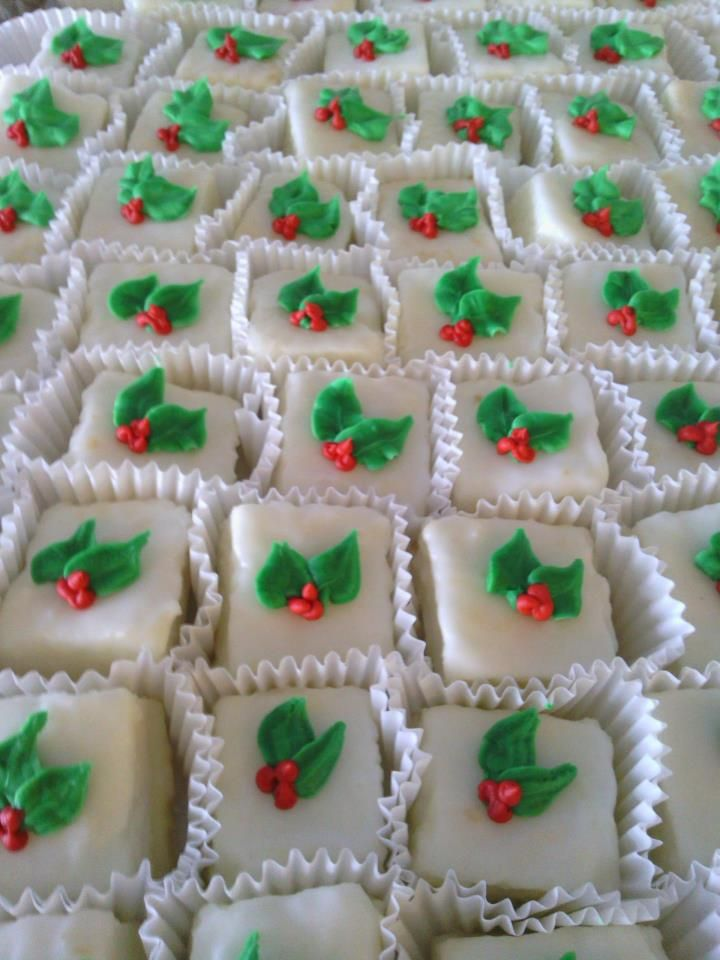 Delicious Cake Squares From Wilson S Bakery In Warner Robins Ga