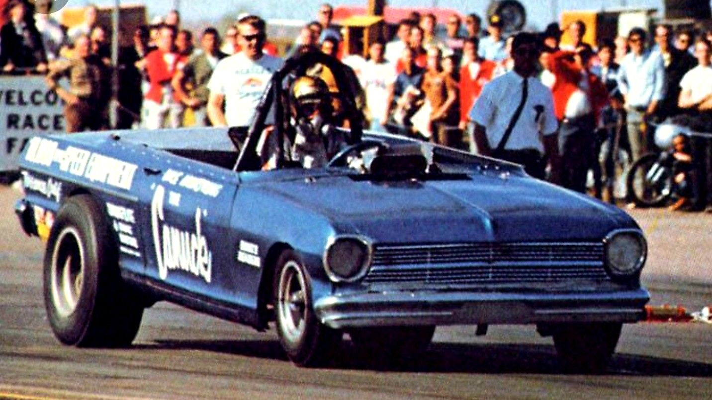 """Canadian Dale Armstrong's '65 Chevy II """"The Canuck"""" Blown"""