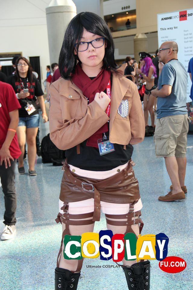 Mikasa Ackerman Cosplay from Attack on Titan at Anime Expo ...