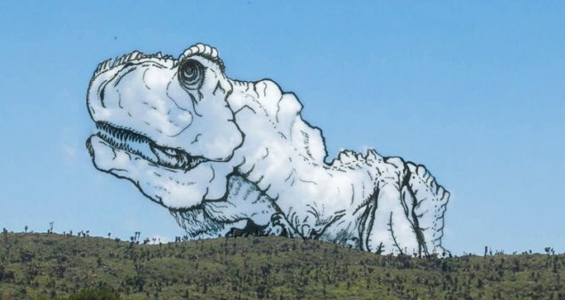 Artist Draws Whimsical Illustrations Over The Shapes He Sees In Clouds
