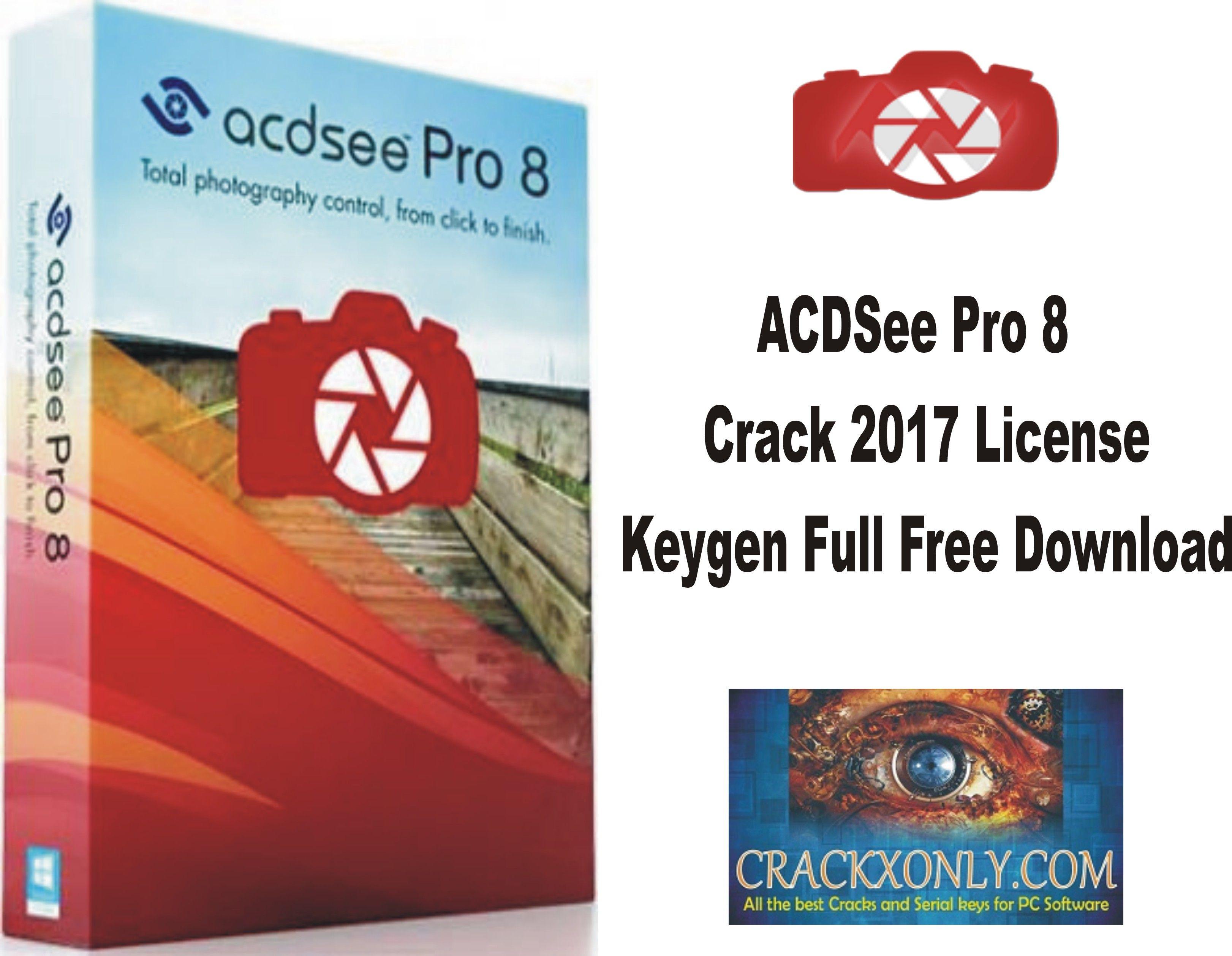 Acdsee pro 8 license key 2017
