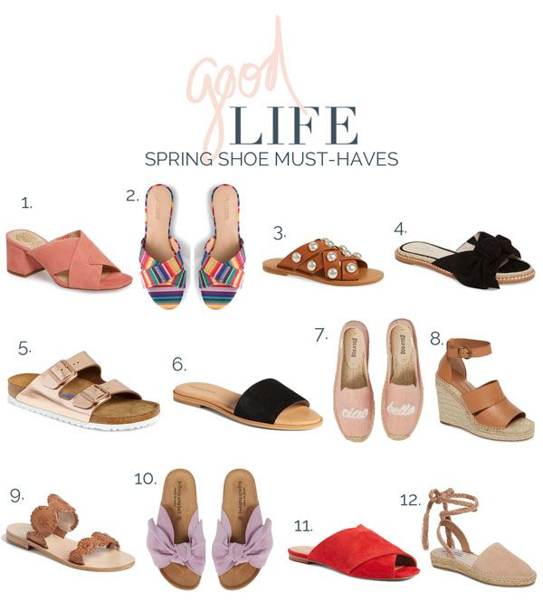 12 spring shoes musthaves! is part of Spring shoe trend - A personal style blog featuring simple and casual style for moms and women in western michigan