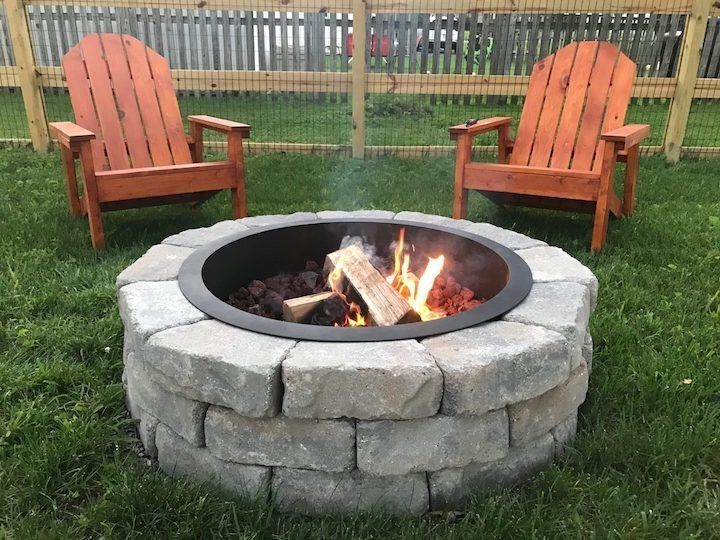 25 Ways To Make Simple DIY Fire Pit In Your Backyard | Diy ...
