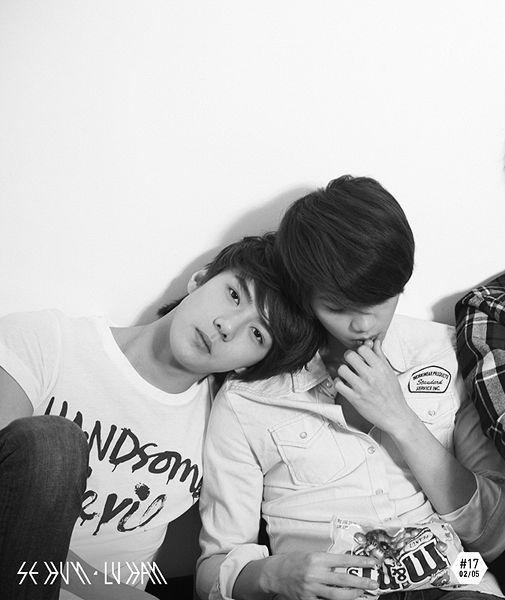 #Sehun and #Luhan #EXO official pre-debut photo