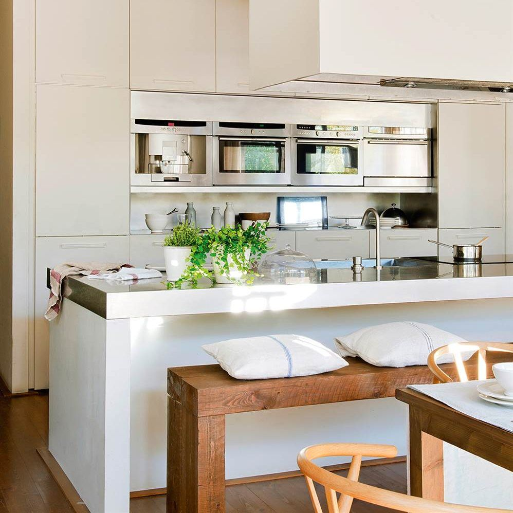 Cocinas abiertas: adiós a la claustrofobia | Kitchen | Pinterest ...
