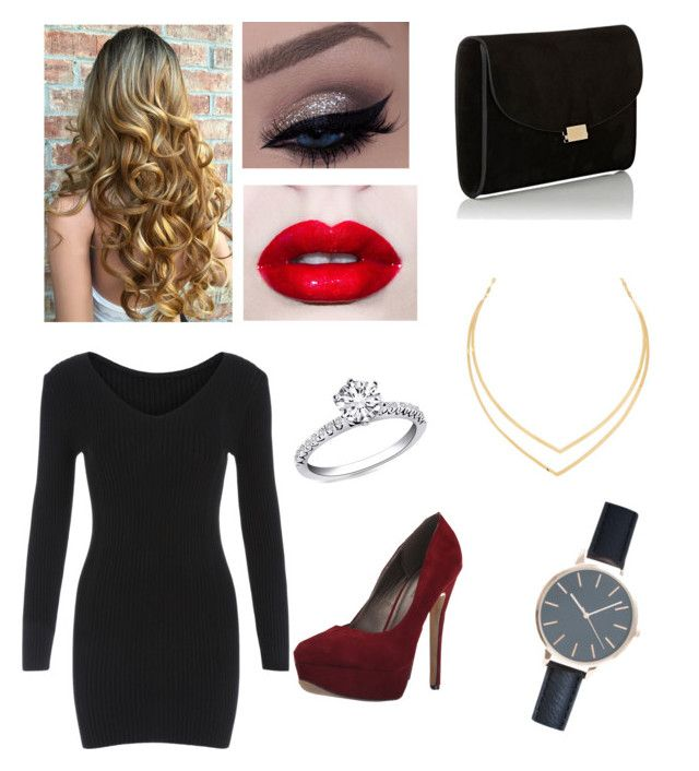 """""""Fancy"""" by kristenbreannn on Polyvore featuring Lime Crime, Michael Antonio, Mansur Gavriel and Lana"""
