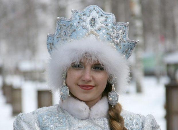 Снегурочка фотосессия работа девушке на ночь