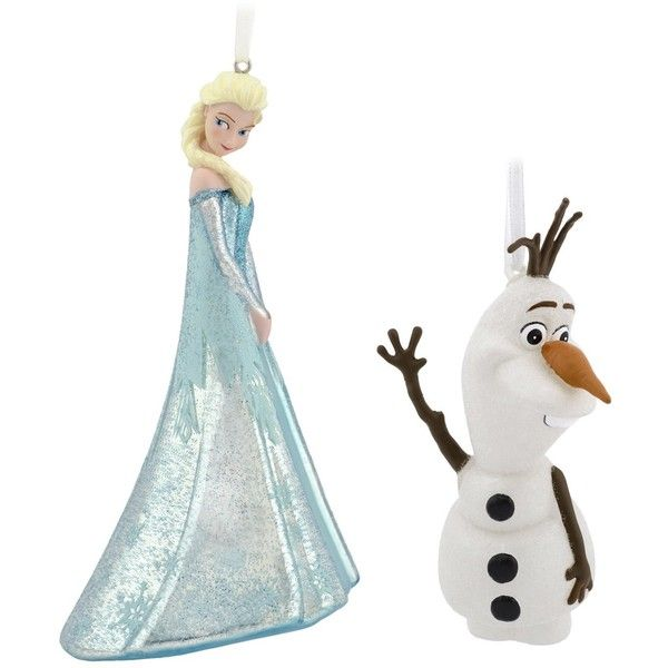 Hallmark Frozen Christmas Ornament ($15) ❤ liked on Polyvore ...