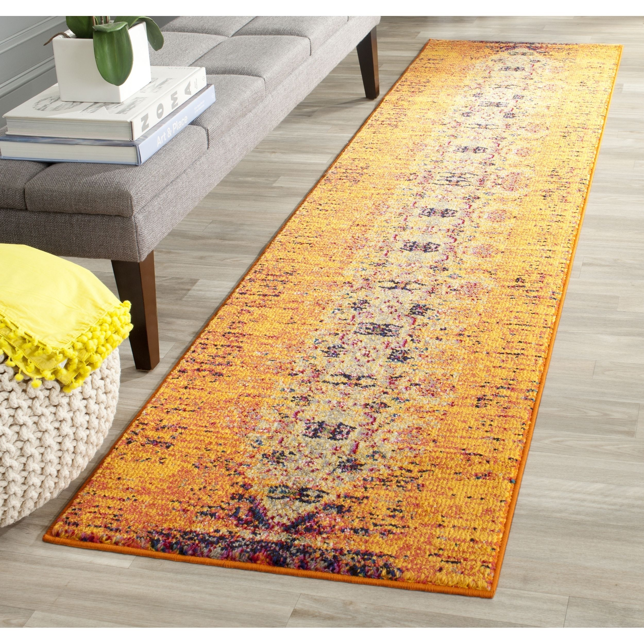 2 X 12 14 15 Runner Rugs Use In Hallways And On Stairs To Protect Your Flooring Absorb Noise Create An Inviting Feel