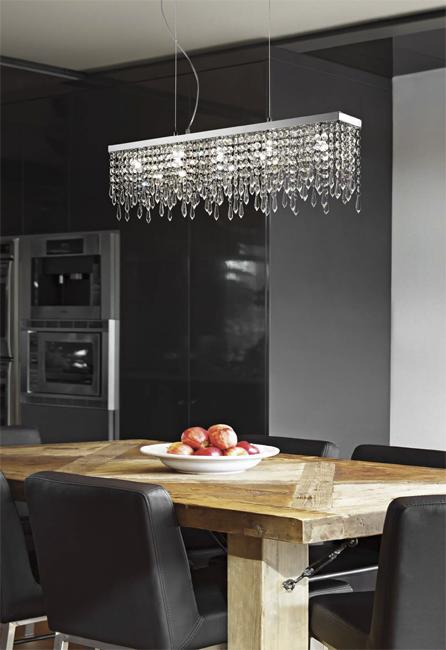 żyrandol Giada Clear Sp5 098722 Ideal Lux Oświetlenie Do