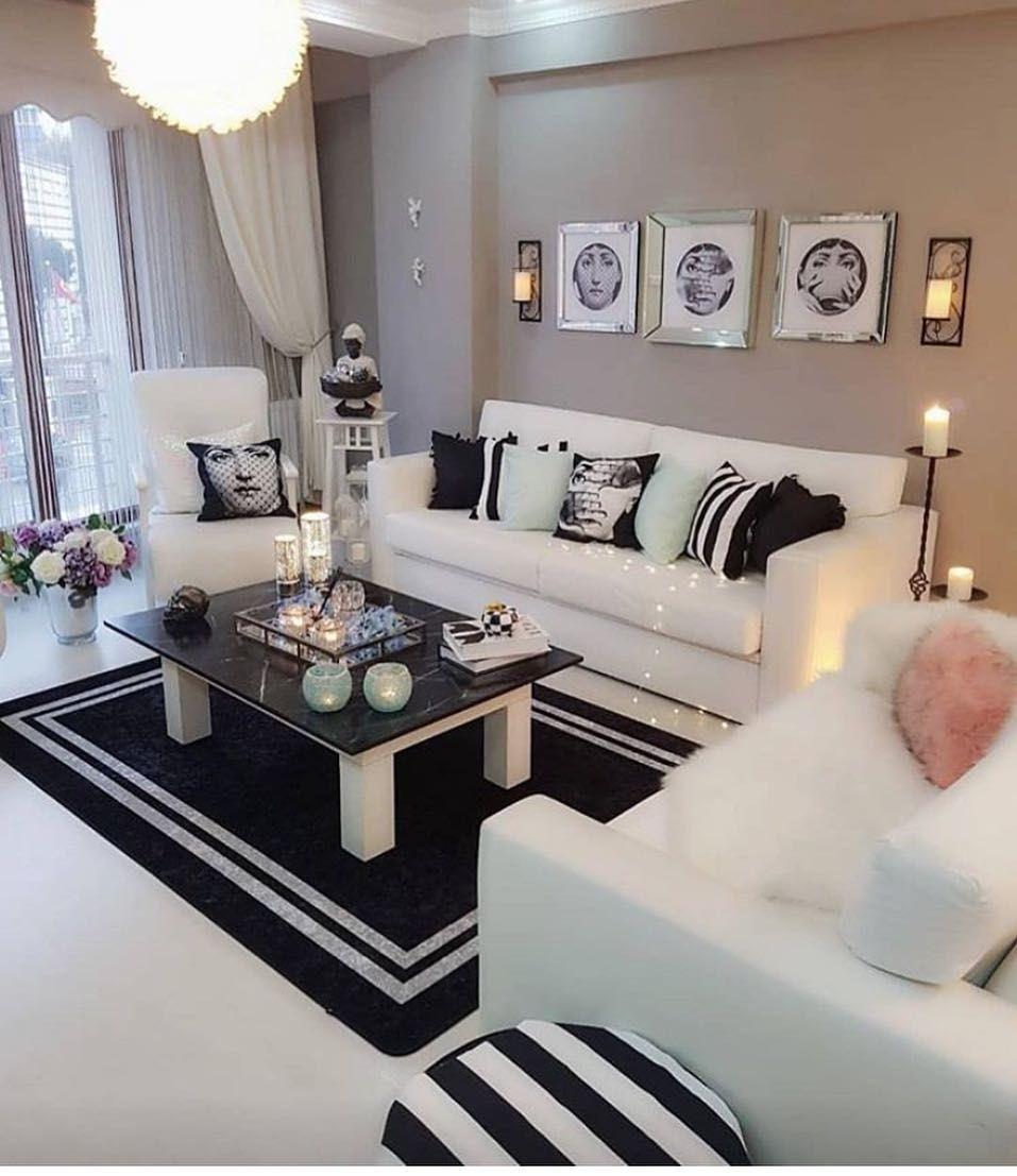 Interiors Home Decor Ideas On Instagram Beautiful Living Room Decor Beautiful Living Rooms Decor Black Living Room Decor Living Room Decor Furniture