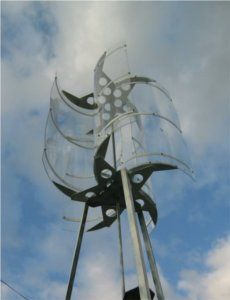 Construire une olienne fabriquer une eolienne axe vertical energie p - Construire une douche solaire ...