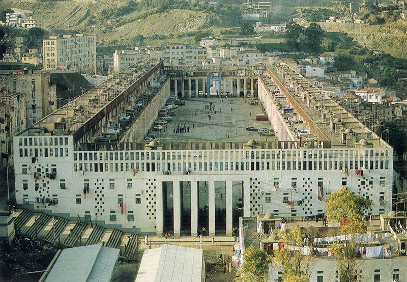 French Architect climat de france (1954-1957) in algiers,fernand pouillon