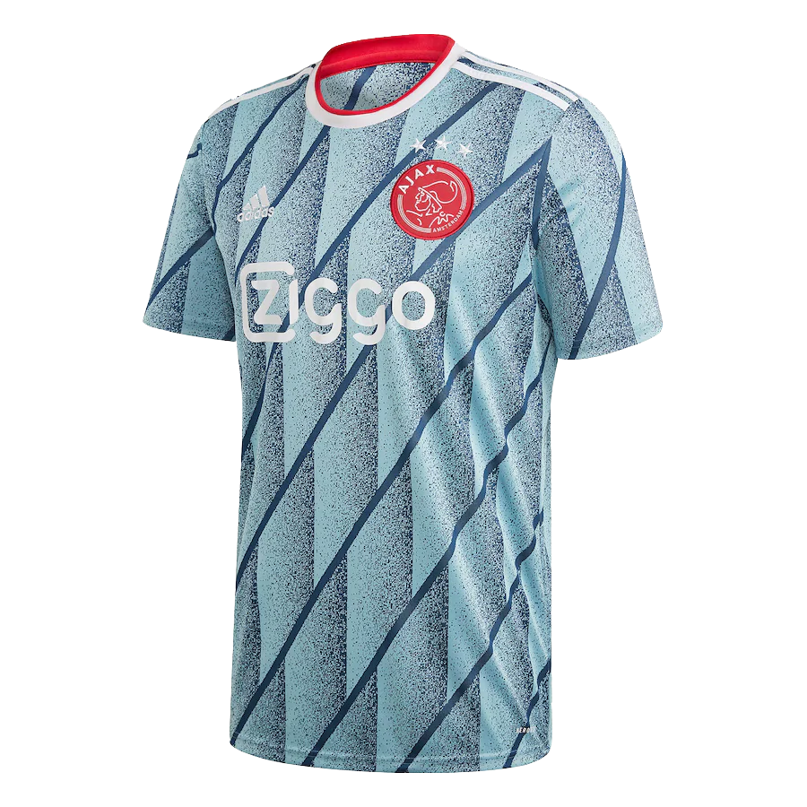20 21 Ajax Away Blue Soccer Jerseys Shirt Cheap Soccer Jerseys Shop In 2020 Soccer Jersey Soccer Shirts Jersey Shirt